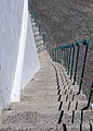 Double staircase,, Angra do Heroísmo, Azores, Portugal (PPL3-Altered) julesvernex2.jpg