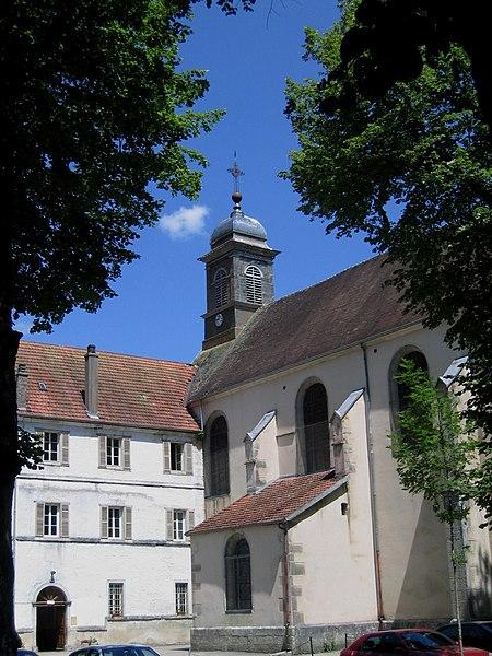Doubs Consolation-Maisonnettes Abbaye Eglise 11072006