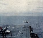 Douglas A-4C Skyhawks from VA-125 are launched from USS Hornet (CVS-12) c1963.jpg