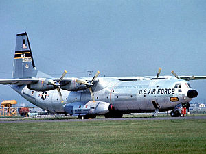 84th Military Airlift Squadron - A C-133B Cargomaster 59-0522 of the 84th ATS, in about 1960