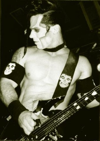 Doyle joined Danzig onstage during tours from 2004 to 2006 for half-hour sets of early Misfits songs. Doyle Wolfgang von Frankenstein.jpg