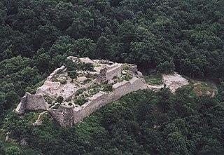 Drégely Castle castle ruins in Drégelypalánk, Hungary