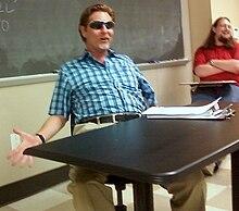 Dr. Hoberman in class