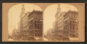 William L. Johnston - Image: Dr. Jayne's building, Philadelphia, from Robert N. Dennis collection of stereoscopic views