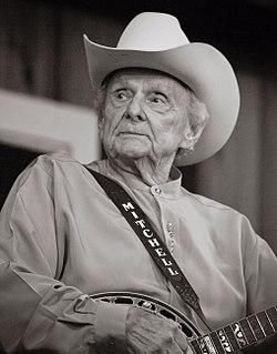 Ralph Stanley American bluegrass musician and singer