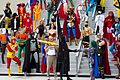 Dragon Con 2013 - JLA vs Avengers Shoot - Eternity and Kismet (9672401736).jpg