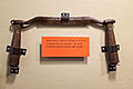 Draw knife used to make canal boats at NPS Chesapeake and Ohio Museum, Cumberland MD.jpg