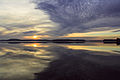 Drawsko Lake at sunset.jpg