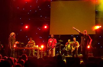 Dreadzone - Dreadzone live in Athens, June 2007