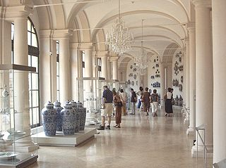Dresden Porcelain Collection museum in Germany