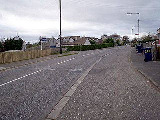 Gamblestown village in the United Kingdom