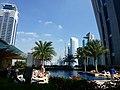Dubai - JW Marriot marquis Dubai - Outdoor Swimming Pool 6th floor - JW ماريوت ماركيز دبي - حوض سباحة داخلي 6th الكلمة - panoramio.jpg