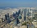 Dubai - View from the Burj Khalifa - Sheikh Zayed Road - المنظر من برج خليفة - شارع الشيخ زايد - panoramio.jpg