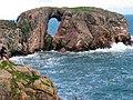Dunbuy rock arch - geograph.org.uk - 988953.jpg
