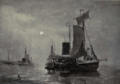 Dutch Painting in the 19th Century - H. W. Mesdag - Night at Scheveningen.png