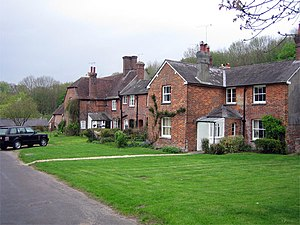 Bryanston - Image: Dwellings in Bryanston Village geograph.org.uk 163315