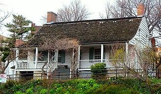 Dyckman House - Image: Dyckman House Bwy cloudy jeh crop
