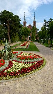 Ciechocinek Place in Kuyavian-Pomeranian Voivodeship, Poland