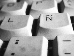 Eñe on keyboard - grey.jpg