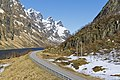 E10 road (Lofast) at Ingelsfjorden, Hadsel, Nordland, Norway, 2015 April.jpg
