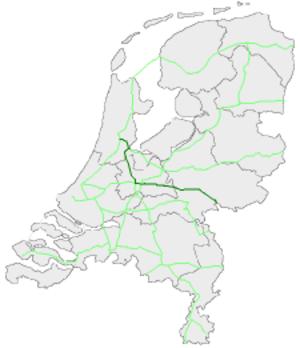 European route E35 in the Netherlands - Image: E35Nederland