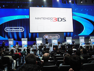 Nintendo 3DS - The Nintendo 3DS E3 2010 unveiling involved an elaborate stage with moving set pieces.