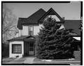 EAST (FRONT) ELEVATION - Francis H. Perkins House, 77 S Street, Salt Lake City, Salt Lake County, UT HABS UTAH,18-SALCI,31-1.tif