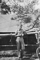 Pilot Officer Gough Whitlam in Cooktown, Queensland in 1944