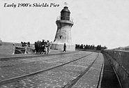 Early 1900's Shields Pier