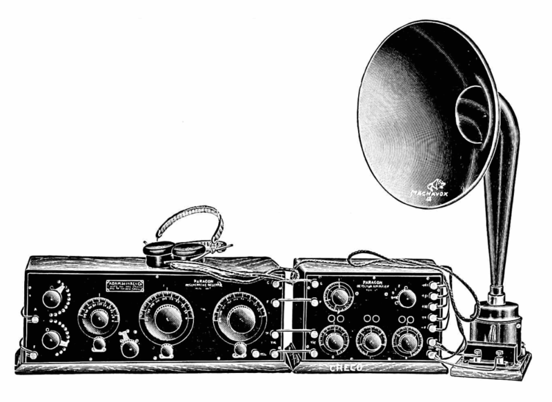 File:Early 1920s radio and horn speaker.png