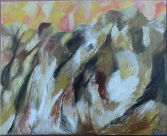 Irvin Borish - Early Abstract, 1965