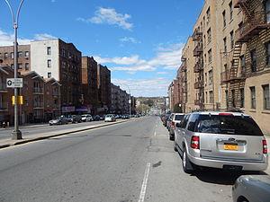 East 233rd Street (Bronx) - East 233rd Street heading westward through Woodlawn