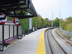 East Weymouth (MBTA station) - East Weymouth station in November 2007
