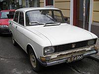 Eastern European car, unknown model, seen in Sofia, Bulgaria September 2005.jpg