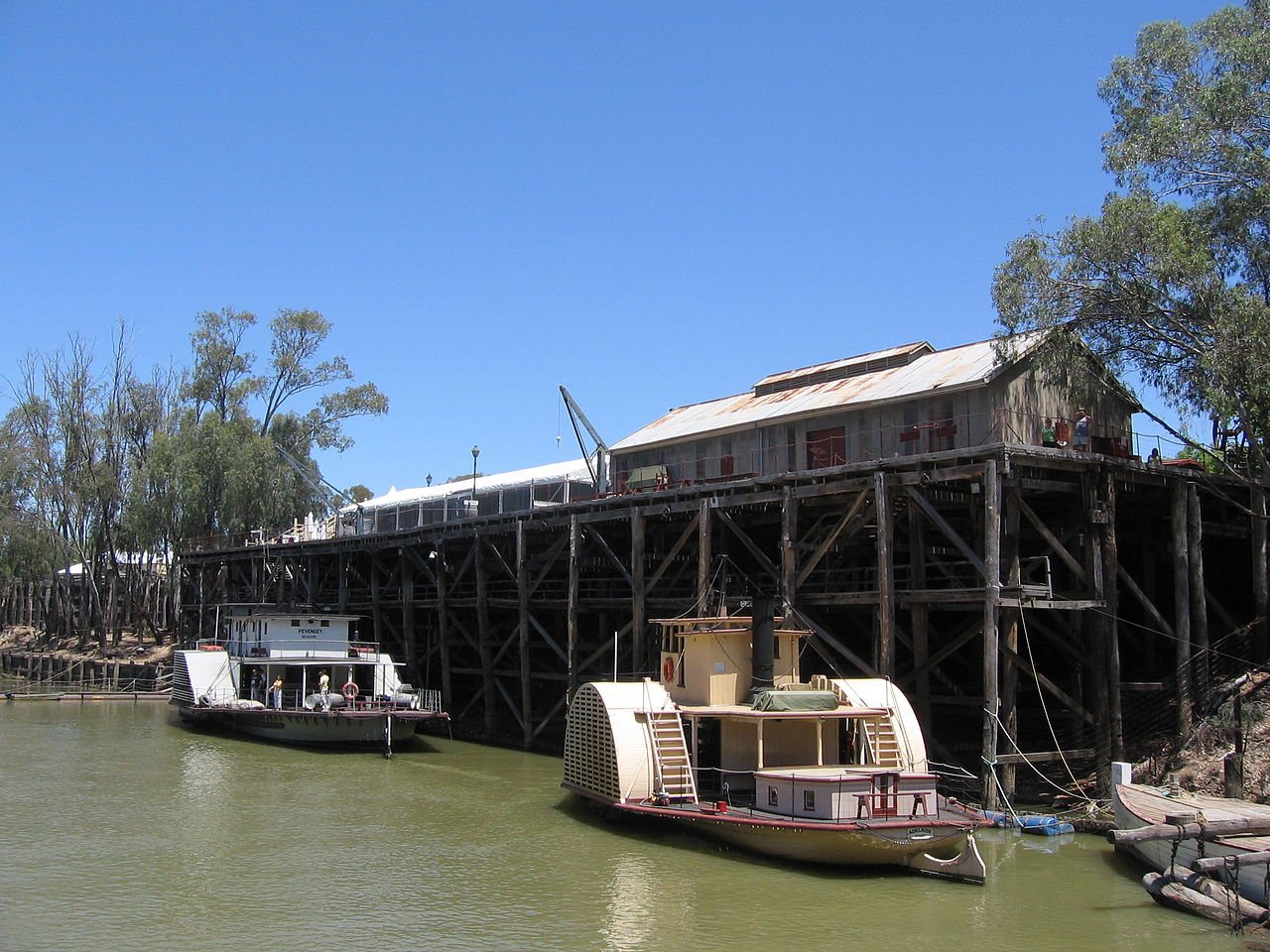 Echuca's main landmark