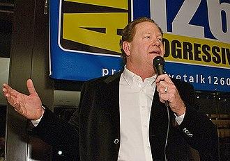 Ed Schultz - Schultz in Washington, D.C. in January 2007