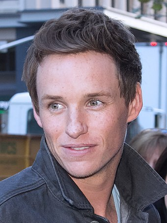 Redmayne at the 2014 Toronto International Film Festival