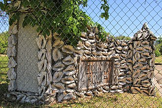 National Register of Historic Places listings in Jefferson County, Texas - Image: Eddingston court conch shell gate