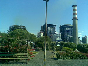 English: Combined cycle power plant Edelnor, i...