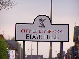Edge Hill, Liverpool District of Liverpool