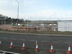 Edinburgh Trams - the tram depot (geograph 2302493).jpg