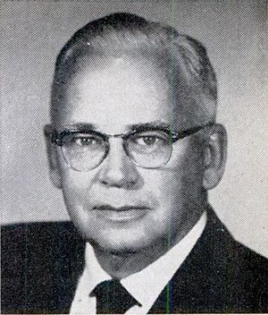 Edwin Durno - From 1961's Pocket Congressional Directory of the Eighty-Seventh Congress.