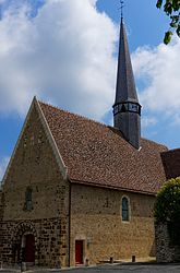 The church of Saint-Pierre, after restoration