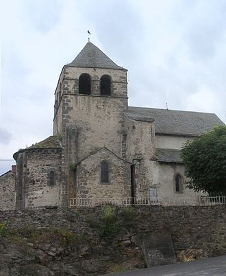 Auriac-l'Église - Church of Saint-Nicolas