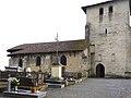 Eglise de Montfort- en-Chalosse avec son cimetière.jpg