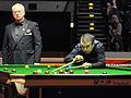 Eirian Williams and Rod Lawler at Snooker German Masters (Martin Rulsch) 2014-02-01 02.jpg