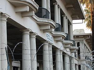 El Garces Hotel - El Garces Hotel, undergoing restoration in 2007