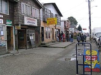Quellón - Image: El Centro de Quellon