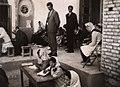 Elementary school female students exam, Vazvan - 1966.jpg