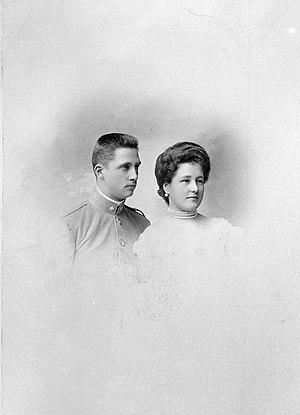 Archduchess Maria Anna of Austria (1882–1940) - Archduchess Maria Anna of Austria-Teschen with husband Elias of Bourbon-Parma in 1903
